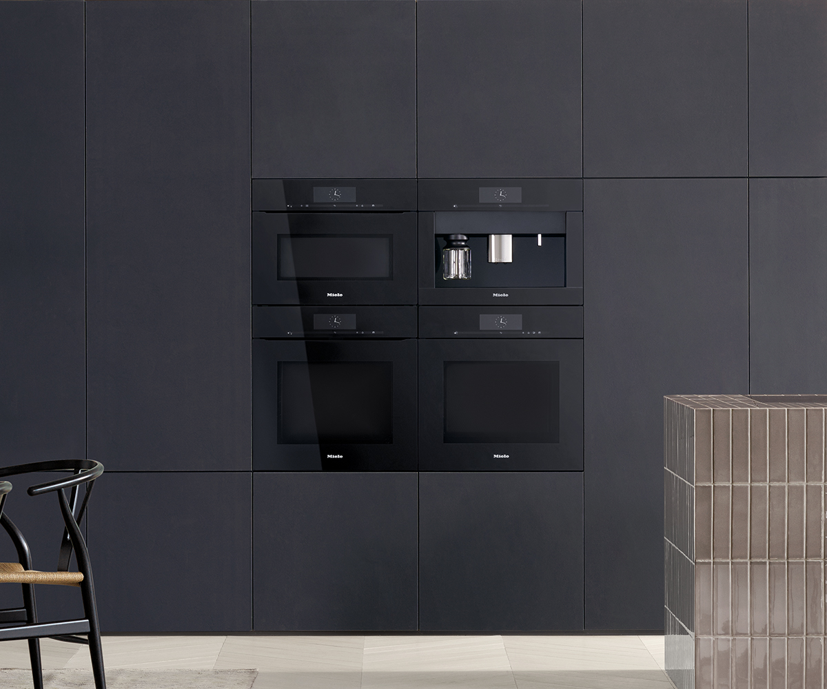 ArtLine built-in appliances with Touch2Open » Miele