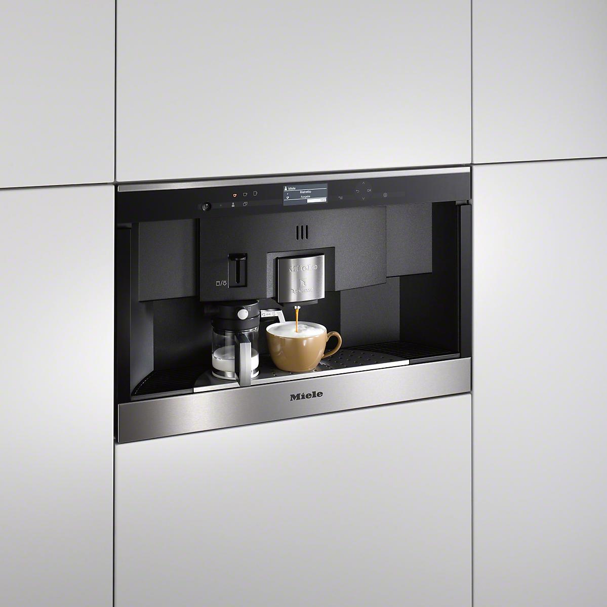 miele appliance features cvc cappuccinatore. Black Bedroom Furniture Sets. Home Design Ideas