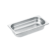 DGG 2 Unperforated steam cooking container