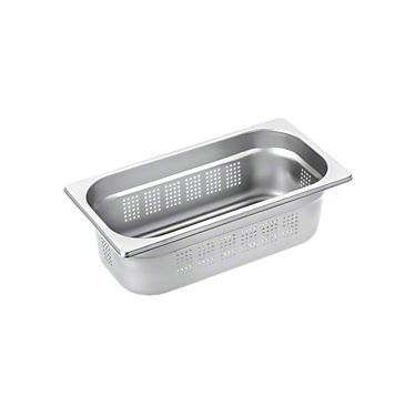 DGGL 6 - Perforated steam cooking containers For blanching or cooking vegetables, fish, meat and potatoes and much more--Stainless steel