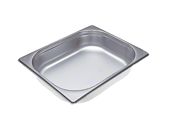 DGG 3 - Unperforated steam cooking container For all DG steam ovens except DG 7000. --Stainless steel