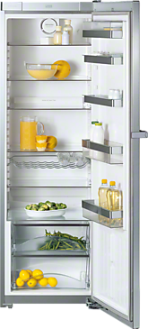K 14820 SD ed/cs - Freestanding refrigerator For maximum convenience thanks to ComfortClean, SoftClose and Miele VarioBord.--Stainless steel