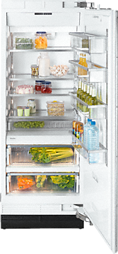 K 1801 Vi - MasterCool refrigerator with high-quality features and maximum storage space for fresh food.--NO_COLOR