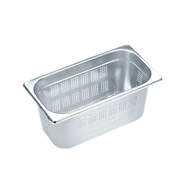 DGGL 10 - Perforated steam cooking containers For blanching or cooking vegetables, fish, meat and potatoes and much more--NO_COLOR