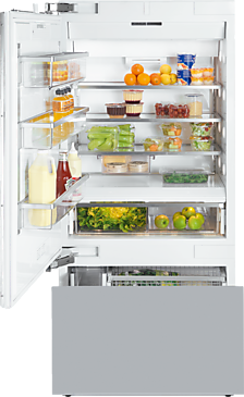 KF 1911 Vi - MasterCool fridge-freezer with high-quality features and maximum storage space for exacting demands.--NO_COLOR