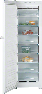 FN 12827 S - Freestanding freezer with EasyOpen and NoFrost for convenient side-by-side installation.--NO_COLOR