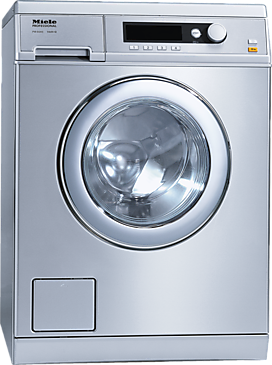 PW 6065 Vario [EL LP] - Washing machine, electrically heated With the shortest cycle of 49 minutes, designed with drain pump.--Stainless steel