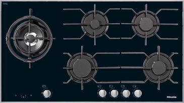 KM 3054 - Gas cooktop with electronic functions for maximum safety and user convenience.--NO_COLOR