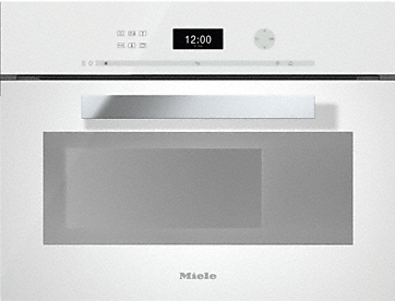 DG 6401 - Built-in steam oven Intuitive and easy to use with plain text display and touch control.--