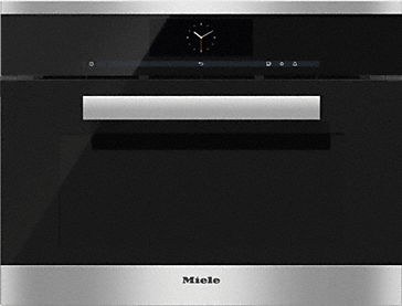 DGC 6805 - XL steam combination oven with fully-fledged oven operating mode – the Miele all-rounder with mains water connection for discerning cooks.--Stainless steel/CleanSteel