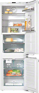 KFNS 37692 iDE - Built-in fridge-freezer combination For that special look in the kitchen thanks to Perfect fresh Pro and FlexiLight.--