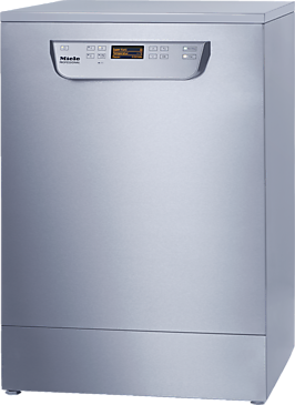 PG 8059 [MK HYGIENE] - Fresh water dishwasher with baskets, for all locations with high hygiene requirements.--stainless steel exterior