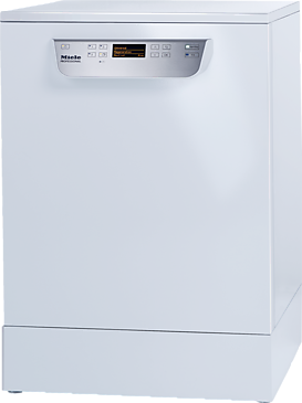 PG 8059 [MK HYGIENE] - Fresh water dishwasher with baskets, for all locations with high hygiene requirements.--white casing