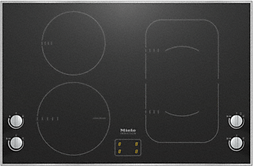KM 6363-1 - Induction cooktop with onset controls with PowerFlex cooking zone for maximum versatility and performance.--NO_COLOR