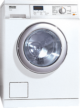 PW 5065 [EL LP] - Washing machine, electrically heated With the shortest cycle of 49 minutes, designed with drain pump.--Lotus white