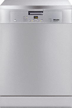 G 4203 SC Front Active - Freestanding dishwasher with cutlery tray for maximum convenience at an attractive entry level price.--Stainless steel/CleanSteel