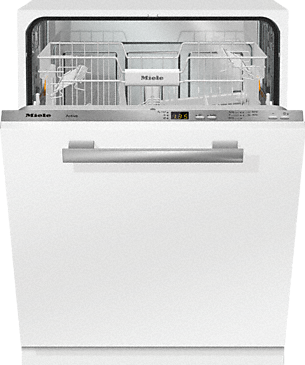 G 4263 Vi Active - Fully integrated dishwashers with delay start for maximum convenience at an attractive entry-level price.--Stainless steel/CleanSteel