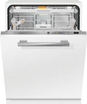 "G 6660 SCVi - Fully integrated dishwashers with 3D cutlery tray+ and <var Data-ID=""PP_104095; classvalue"">Wert in SAP nicht gepflegt!</var> dB(A) for maximum convenience.--Stainless steel/CleanSteel"