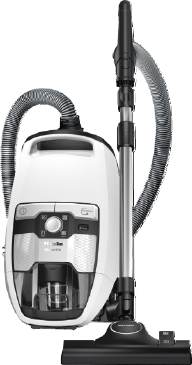 Blizzard CX1 Excellence PowerLine - SKCR3 - Bagless cylinder vacuum cleaners With high suction power and telescopic tube for thorough, convenient vacuuming.--Lotus white