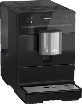 CM 5300 - Benchtop coffee machine With OneTouch for Two for the ultimate in coffee enjoyment.--Obsidian black