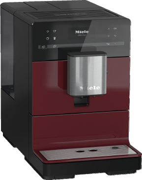 CM 5300 - Benchtop coffee machine With OneTouch for Two for the ultimate in coffee enjoyment.--Tayberry red