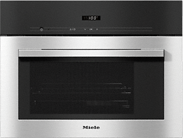 DG 2740 - Built-in steam oven for healthy cooking with automatic programmes.--Stainless steel/CleanSteel