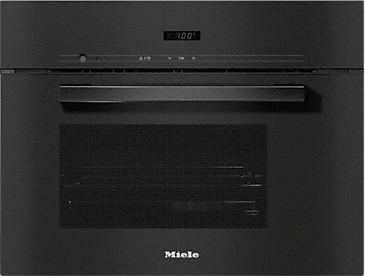 DG 2840 - Built-in steam oven for healthy cooking with automatic programmes.--Obsidian black