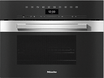 DGM 7440 - Steam oven with microwave for healthy cooking and Rapid Heat-up with networking.--Stainless steel/CleanSteel