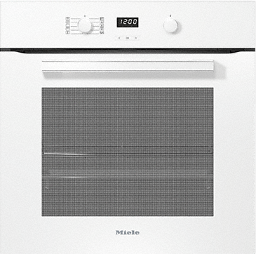 H 2860 B - Ovens with a timer and PerfectClean. --