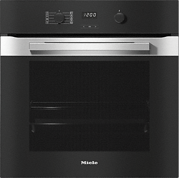 H 2860 B - Ovens with a timer and PerfectClean. --Stainless steel/CleanSteel