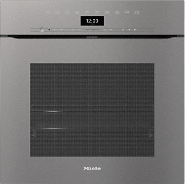 H 7464 BPX - Handleless oven seamless design with food probe and LED lighting.--