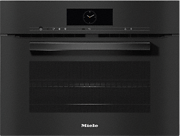 H 7840 BM - Speed oven with a seamless design, Automatic programmes and food probe--Obsidian black