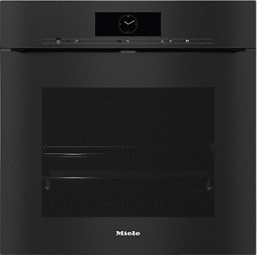 H 7860 BPX - Handleless oven seamless design with food probe and BrilliantLight.--Obsidian black