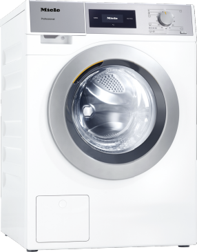 PWM 507 [EL DP] - Professional washing machine, electrically heated, with drain pump and target group-specific programmes. Capacity 7.0 kg in 49 minutes.--Lotus white