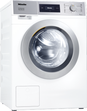 PWM 508 Mop Star 80 [EL DV] - Professional washing machine, electrically heated, with drain valve designed to meet the needs of facility management. Load capacity 8.0 kg.--Lotus white