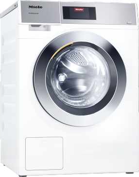 PWM 908 [EL DP] - Professional washing machine, electrically heated, with drain pump and target group-specific programmes. Capacity 8.0 kg in 59 minutes.--Lotus white