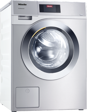 PWM 908 [EL DP] - Professional washing machine, electrically heated, with drain pump and target group-specific programmes. Capacity 8.0 kg in 49 minutes.--Stainless steel