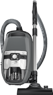 Blizzard CX1 PowerLine - SKRR3 - Bagless cylinder vacuum cleaners With high suction power and telescopic tube for thorough, convenient vacuuming.--