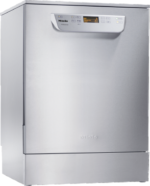 PG 8059 [MK HYGIENE] - Freestanding fresh water dishwasher with baskets, for all locations with high hygiene requirements.--stainless steel exterior
