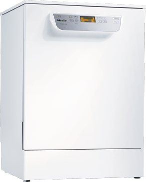 PG 8059 [MK HYGIENE] - Freestanding fresh water dishwasher with baskets, for all locations with high hygiene requirements.--white casing