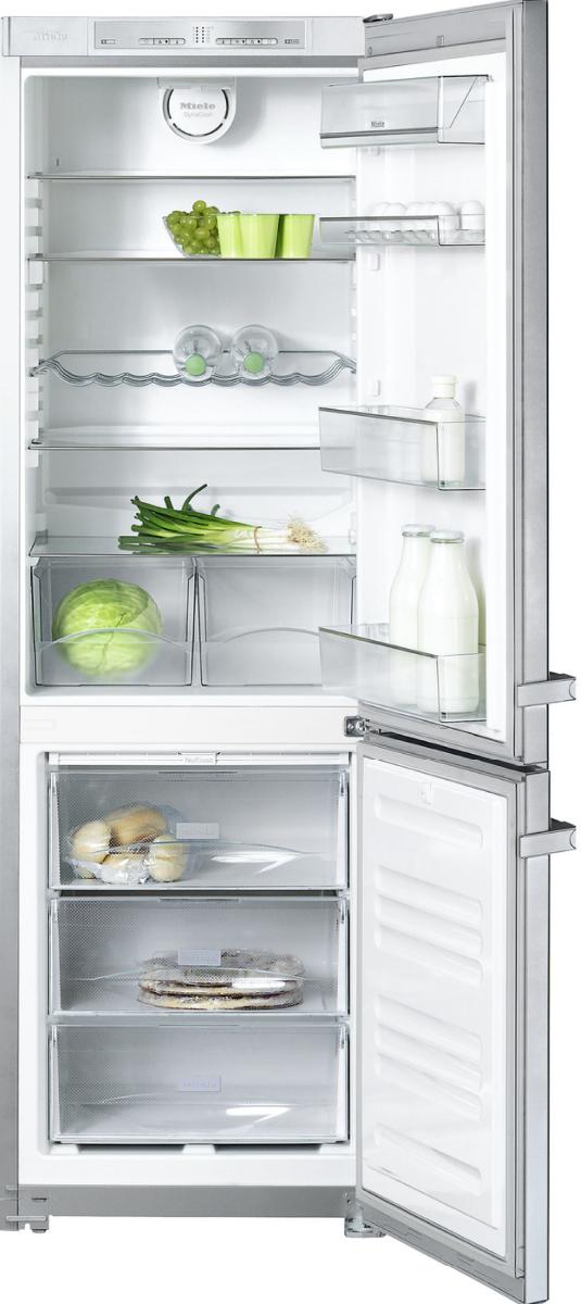 miele kfn 12823 sd edt cs 1 freestanding fridge freezer. Black Bedroom Furniture Sets. Home Design Ideas