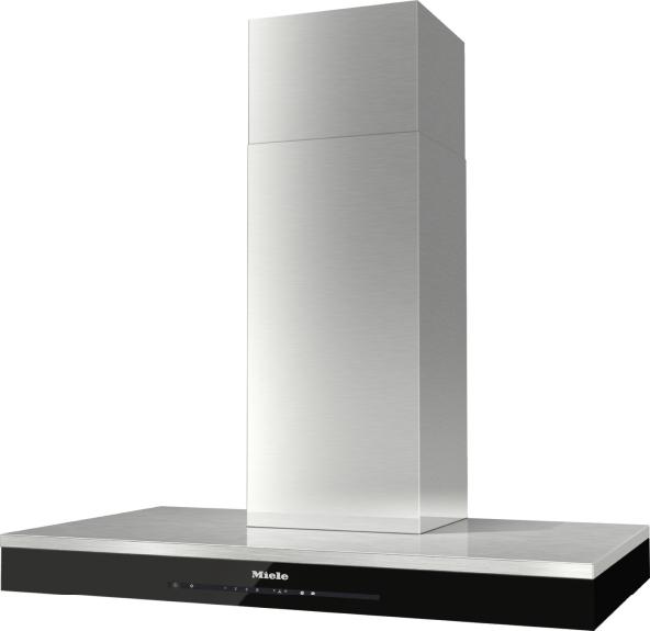 miele da 6690 w puristic edition 6000 wall mounted cooker hood. Black Bedroom Furniture Sets. Home Design Ideas