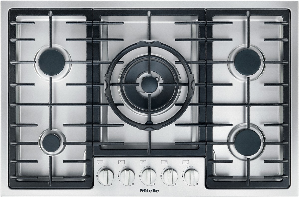 Miele Cooktops And Combisets Km 2334 Gas Cooktop