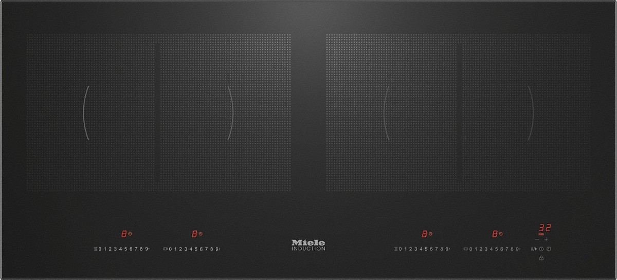 Miele KM 6381 Induction Cooktop With Onset Controls