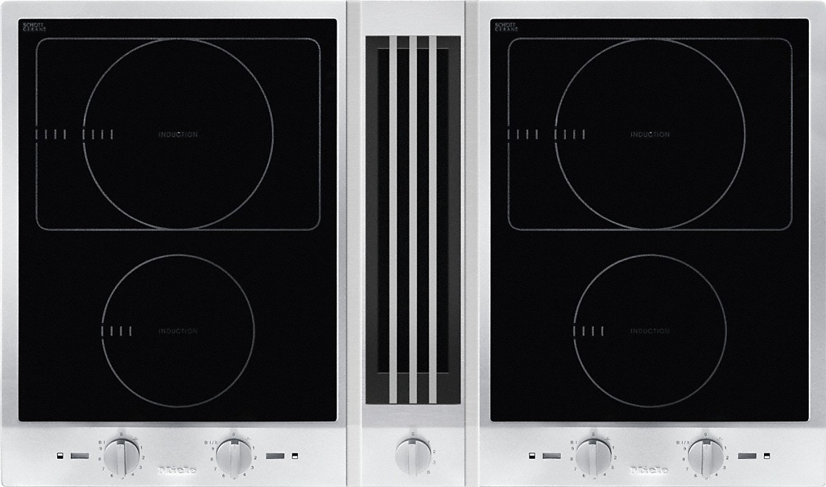 miele csda 1010 proline with downdraft extractor. Black Bedroom Furniture Sets. Home Design Ideas