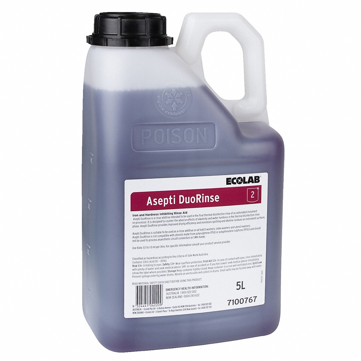 Miele Asepti Duo Rinse Rinse aid, 5 l
