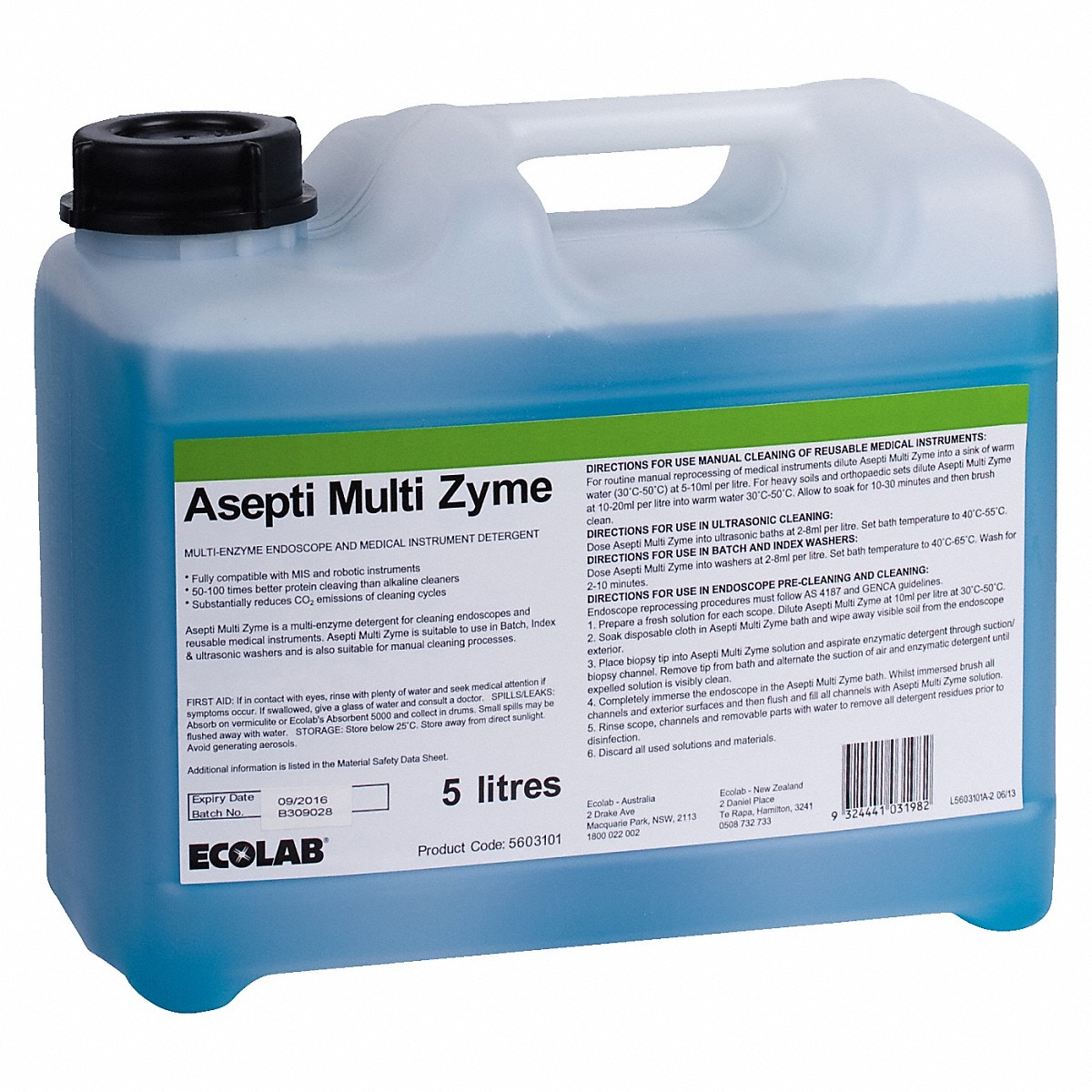 Ecolab Enzyme Floor Cleaner